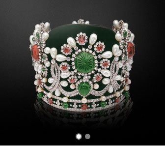 Empress Farah's crown