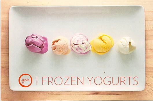 Jeni frozen yogurt