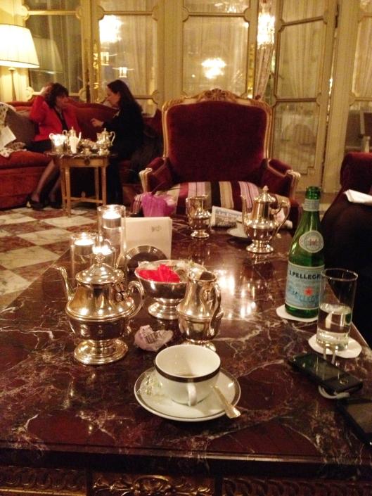tea at Crillon