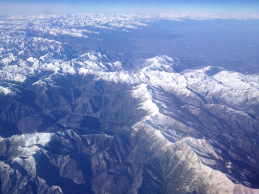 view southern alps