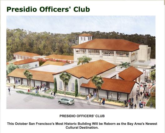 presidio officers club